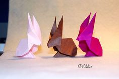 Wildres: Faltanleitung Origami Hase