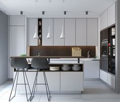 50 Modern Kitchen Designs That Use Unconventional Geometr – Graphic World Co®