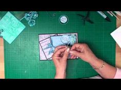 Card making magic-Christina  Paper folded butterfly tutorial
