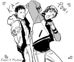 Can't you two losers take one normal picture? Art by Cassandra Jean
