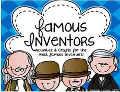 Famous Inventors! {Activities & Crafts for Famous Inventors!} 5th Grade Social Studies, Teaching Social Studies, Teaching Science, Science Activities, Edison Inventions, Homeschool High School, Homeschooling, Steam Education, Wright Brothers