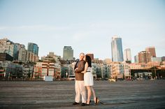 Samantha & Andrew: Pike Place Engagement » Meredith McKee Photography: Seattle Wedding Photographer