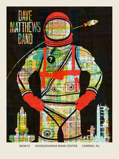 DMB Poster 6-26-2012 - Susquehanna Bank Center - Camden, NJ