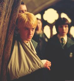 Draco looking sexy..