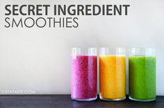 Secret Ingredient Smoothies
