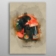 Emerson's Helmet by Abraham Szomor | metal posters - Displate