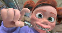 "Do you ever get the feeling you're being watched? Darla, ""Finding Nemo,"" 2003."