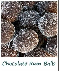 A good rum balls recipe is a tradition for many during the holiday season! This Chocolate Rum Balls Recipe is one of our favorites.