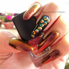 Mesmerizing World Of Nail Art,Beauty and Fashion...: Bornpretty Store's Chameleon polish 212