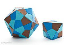 60-degree unit (Tomoko Fuse) squares, 30/12 units, no glue