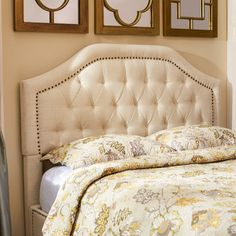 You'll love the Djibril Scalloped Headboard at Wayfair. H x W x D California King Size Overall: H x W x D Other Dimensions Overall Product Weight: LB. Top of Headboard to Bedframe: 27 '' Bottom of Headboard to Floor: 26 '' Fence Headboard, Wingback Headboard, Queen Headboard, Headboards, Headboard Ideas, Living Room Furniture, Home Furniture, Furniture Shopping, Furniture Design