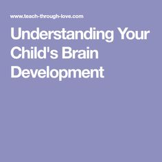 Let's take the mystery out of behavior by understanding your child's brain development. Research And Development, Early Education, Understanding Yourself, Your Child, Behavior, Brain, Teaching, Mystery, Children