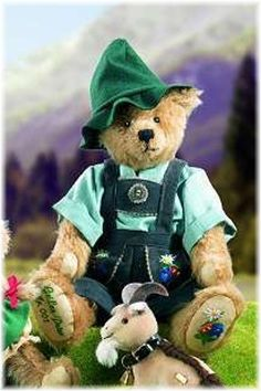 BEARS - Rare Retired Collectable Editions - HEIDI SERIES - 02 - GEIBEN PETER