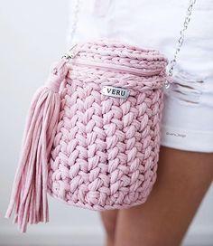 WEBSTA @ spagetti.spb - Розовый зефир, ой, простите меланж! У автора @veru_bags выйдет МК по сумке, поэтому всем срочно фолловить!!!Фото @helienma