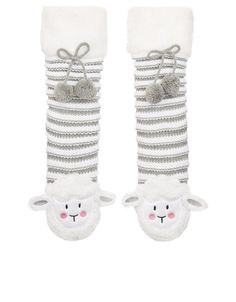 Accessorize: Slippersocken Sleepy Sheep