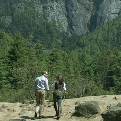 William and Kate at the start of their hike to Paro Taktsang