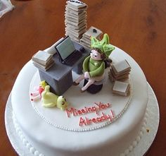 Cake Design Office : 1000+ images about Retirement ideas on Pinterest ...