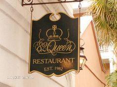 Sign - Picture of 82 Queen, Charleston - TripAdvisor