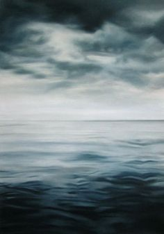 "Pretty incredible!   ""Zaria Forman's pristine, photorealist paintings of the ocean and remote, icy landscapes are painted by hand—quite literally using her fingertips to render marks in paint and chalk, rather than brushes. Traveling to far-flung corners of the globe affected by climate change, in order to source inspiration for her large-scale compositions."""