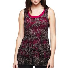 Lace Babydoll Top - jcpenney
