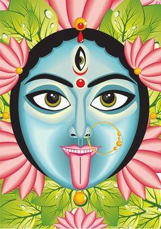 Starting the Day with the Goddess Kali - Om Kali Om {Mantra Monday}