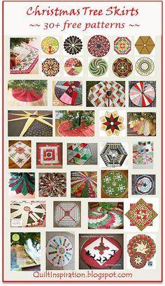 Я люблю пэчворк | I love patchwork | Юбка для елки. Большая коллекция бесплат