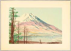 Lake Yamanaka in Winter