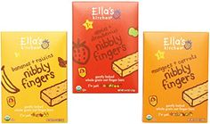 Ellas Kitchen Nibbly Fingers Organic Bundle 1 Mangoes and Carrots 44oz 1 Apples and Strawberries 44oz 1 Bananas and Raisins 44oz 3 Pack Total *** Check out this great product.