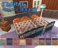 Xandher's Floral Charm Bedding Collection