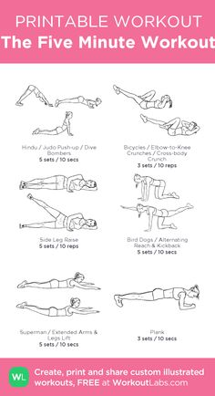 The Five Minute Workout