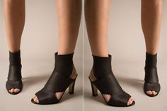 shoes made of recycled car inner tube