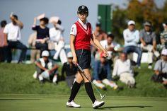 4バーディー、ノーボギーの完璧なゴルフで、単独首位に立った|日本女子オープンゴルフ選手権競技 2日目 堀琴音 <Photo:Chung Sung-Jun/Getty Images>