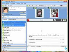 Skype 5 - Make a conference call with Skype