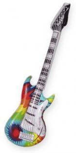 Tye Dye Guitar Inflatable