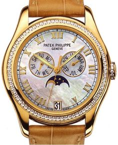 Most #Expensive Women #Watch Brands in the World: Patek Philippe Ladies Complicated Watch Price – $98,000
