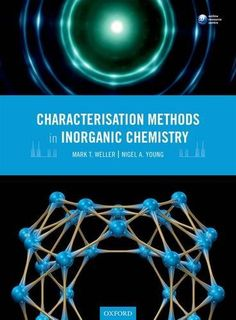 Characterisation Methods in Inorganic Chemistry Chemistry Textbook, Reading, Books, Character, Social Science, Frases, Senior Boys, Historical Fiction Novels, Machine Learning