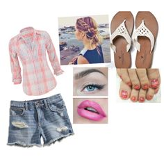 Summertime by sarabray on Polyvore featuring polyvore fashion style maurices Lucky Brand American Eagle Outfitters