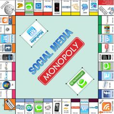 Social Media Monopoly: popular and niche sites in social media industry. Monopoly Gets an Unofficial Social Media Edition. Affiliate Marketing, Content Marketing, Internet Marketing, Social Media Marketing, Marketing Strategies, Marketing Plan, Inbound Marketing, Business Marketing, Social Media Company