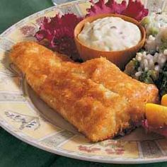 Crunchy-Coated Walleye from Taste of Home Walleye Fish Recipes, Fried Fish Recipes, Meat Recipes, Seafood Recipes, Cooking Recipes, Pike Recipes, Cooking Game, Skillet Recipes, Recipies