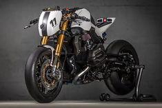 VTR Customs' Killer 'White Venom' BMW R1200R Nitrous Racer