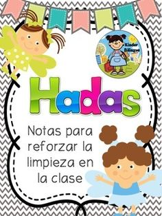 Finally! The clean fairy notes are available in Spanish. They are perfect to motivate your students to keep their area clean. They not only work for desks, you can also use them if your students use tables or chair pockets! If you can't find one you really like, you can create your own using the blank templates provided.