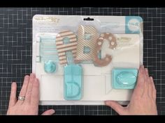 We R Memory Keepers Alphabet Punch Board Review and Demonstration - YouTube