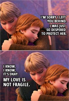 💬 Scroll through the collection of the best quotes from Frozen II. Funny Frozen Quotes, Pixar Quotes, Frozen Funny, Frozen Anna And Kristoff, Frozen Love, Disney Frozen 2, Olaf Frozen, Disney Songs, Disney Memes