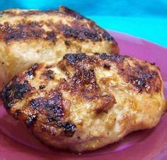Weight Watchers Grilled Mustard-Honey Garlic Pork Chops recipe – 7 points