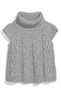 United Colors of Benetton Kids Cap Sleeve Turtleneck Sweater (Toddler)