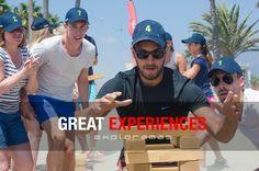 Entrega, acción, diversión. 250 personas disfrutando de un vibrante Mediterranean Challenge en Marbella.