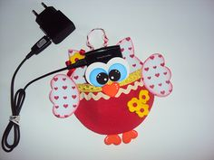 Dia das Mães: porta-carregador de celular decorado com HAK - http://www.hak.com.br/blog/dia-das-maes-porta-carregador-de-celular-decorado-com-hak/