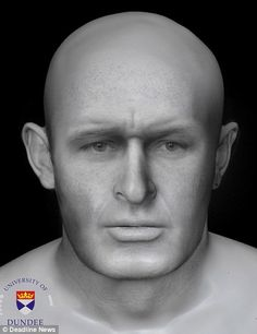 by James McComas (NOSAS) The Pictish period skeletal remains, c . 430 – 630 AD, of a robust young man with severe cranial and facial injuries was found by archaeologists in a cave on the Blac… Dundee University, Forensic Facial Reconstruction, Viking Beard, What Is Today, Family Roots, Ancient Mysteries, Forensics, People Of The World, Male Face