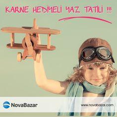 Okul Dönemi Sona Eriyor. Dört Gözle Beklediğiniz Bu Tatile Eliniz Boş Girmeyin ! Nasıl mı ? http://www.novabazar.com/karne-hediyesi