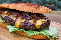 XXL Burger Sandwich